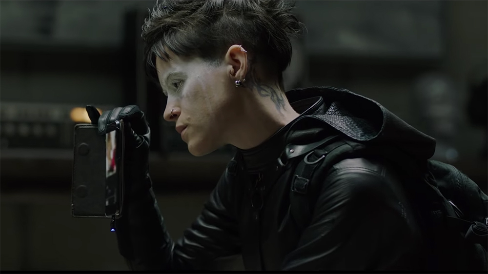 The Girl in the Spider's Web: A relaunch of the female bad-ass franchise