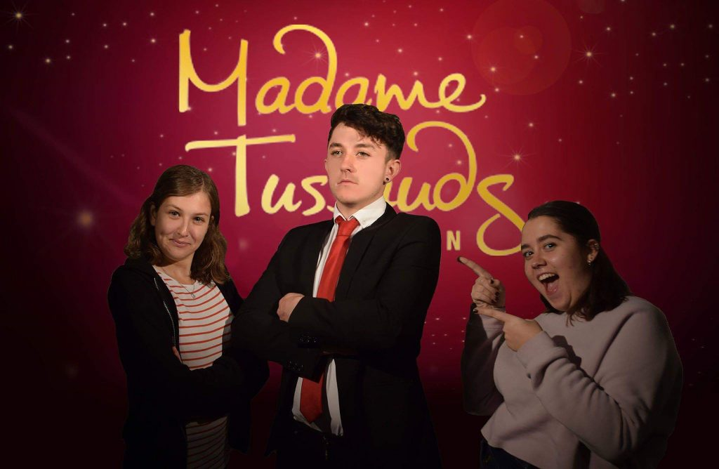 Sculpt the simple man, Madame: Kingston student's Tussauds waxwork bid