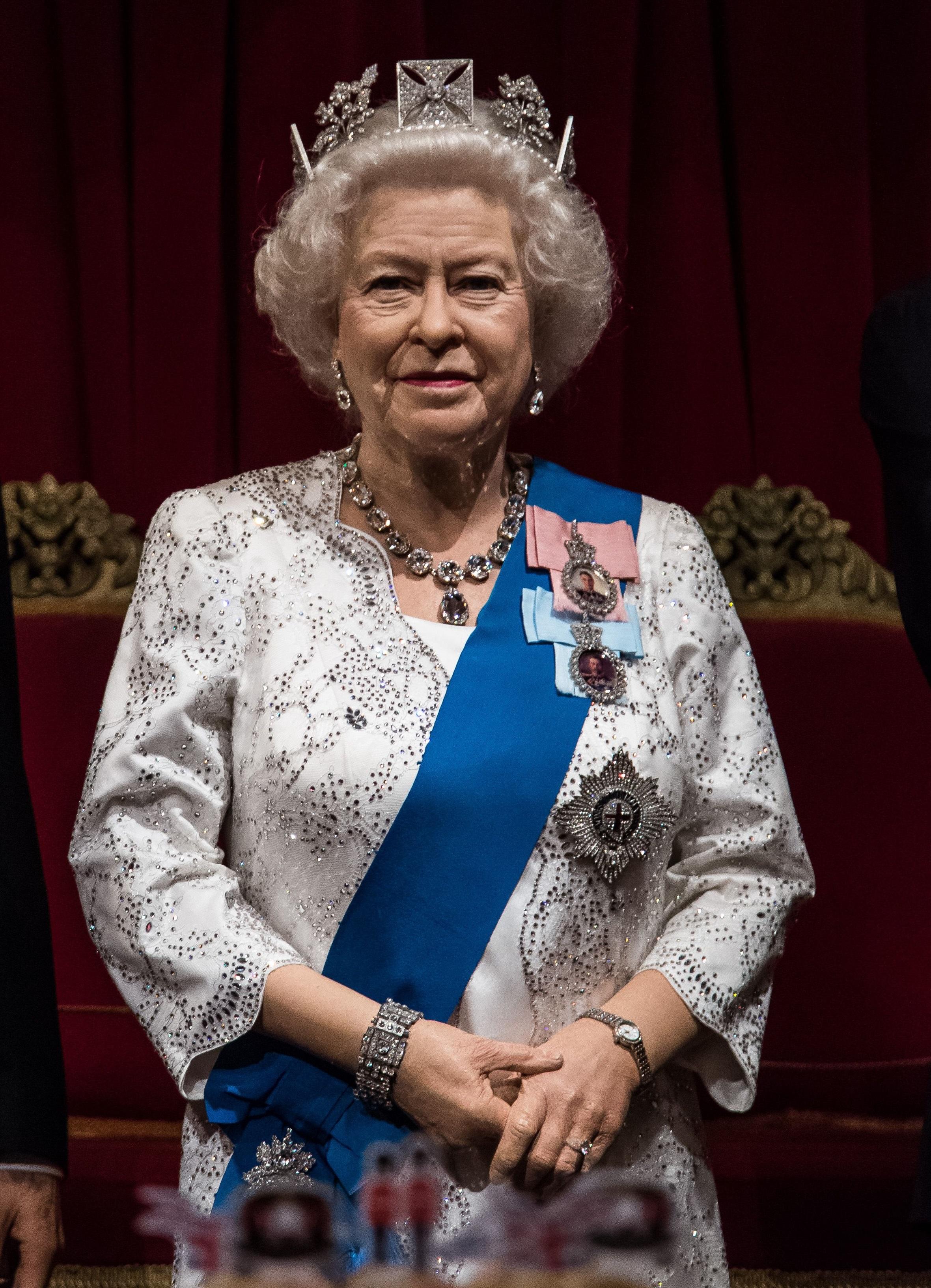 Uncanny: the Queen's Madame Tussauds waxwork
