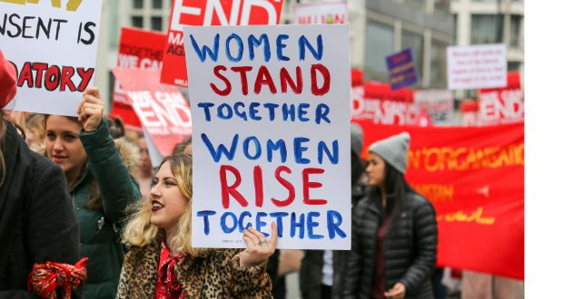 Million Women Rise Demonstration, London, UK - March 2018 Photo: Penelope Barritt/REX/Shutterstock