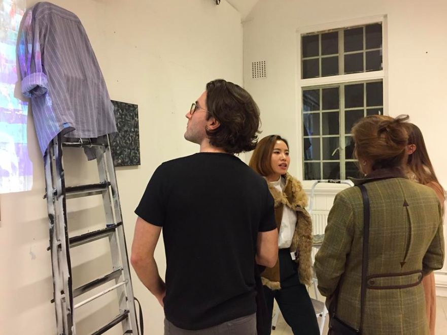 MFA fine art students showcase their work at pre-Christmas exhibition