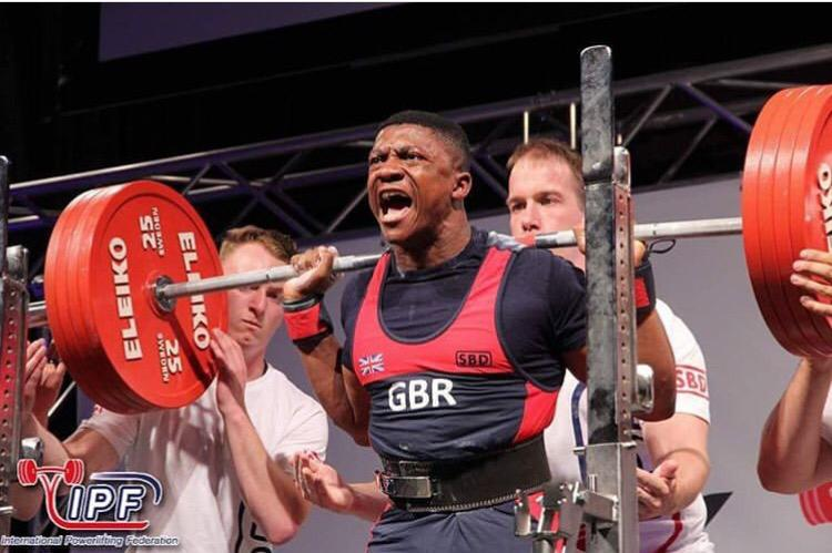 KU weightlifter powers his way into Team GB