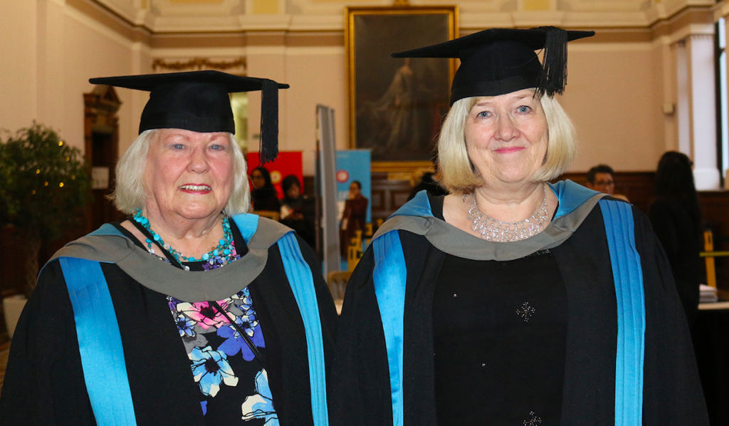 Inspirational pensioners graduate from Kingston University