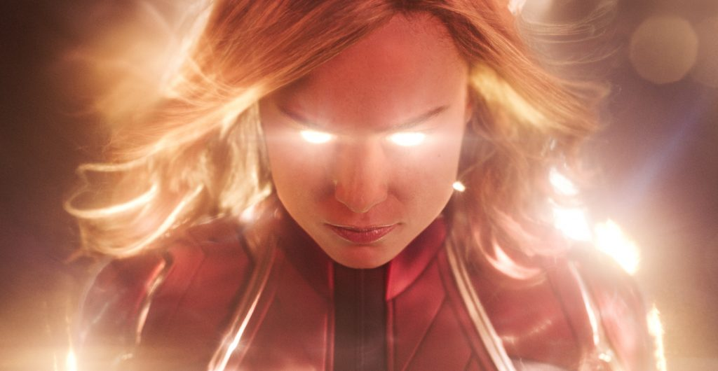 Captain Marvel impresses in first female-led Marvel movie