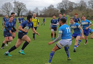Victory for Kingston University's rugby team