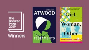 Shocking joint 2019 Booker Prize win for Margaret Atwood, The Testaments, and Bernardine Evaristo, Girl, Woman, Other