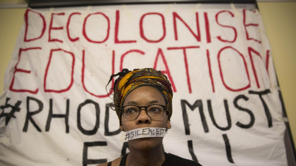 National Union of Students warns that universities are 'product of colonialism'