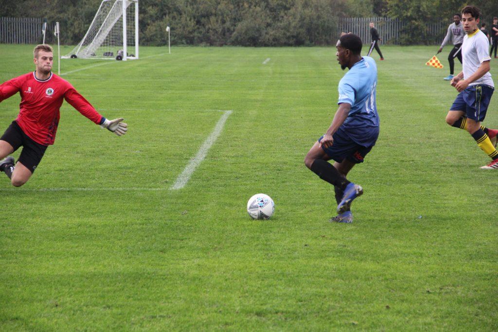 Kingston goal