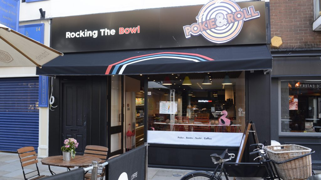 New Pokie and Roll restaurant promotes healthy eating on-the-go