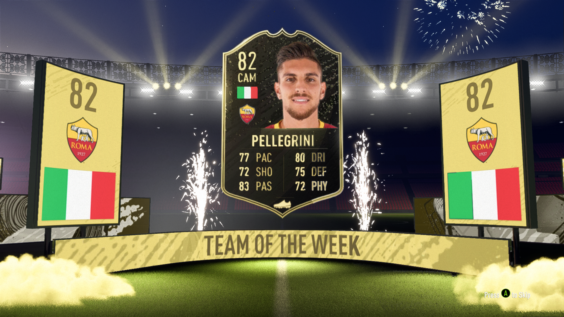 TOTW from a free pack