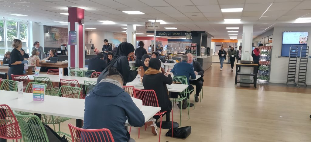 Kingston University canteen is among the cheapest in London