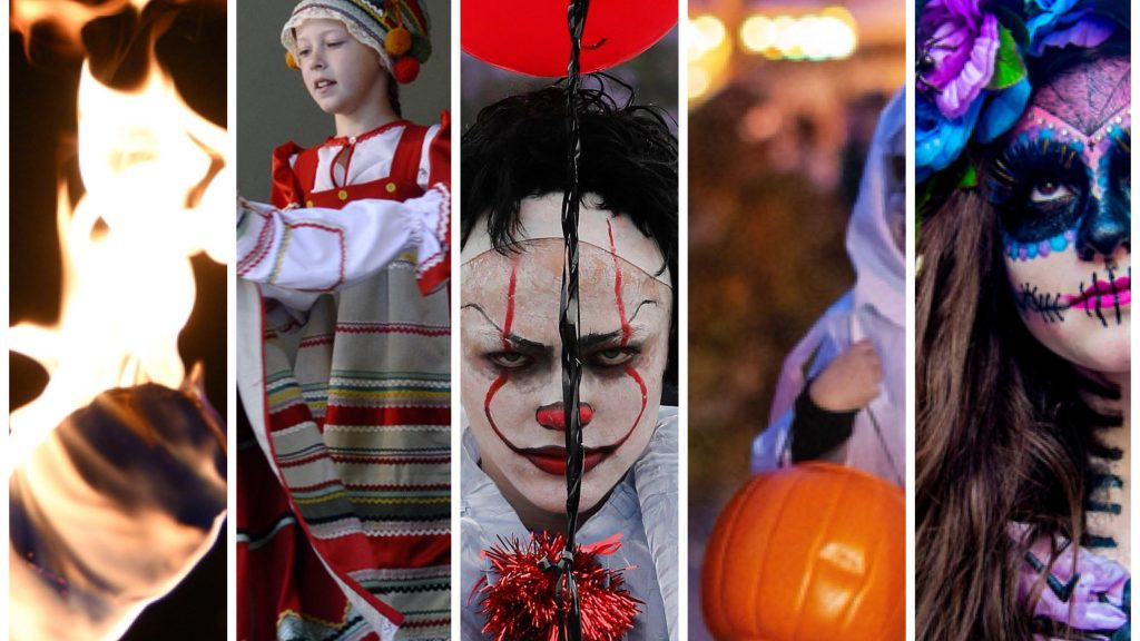 How Kingston University students celebrate Halloween around the world