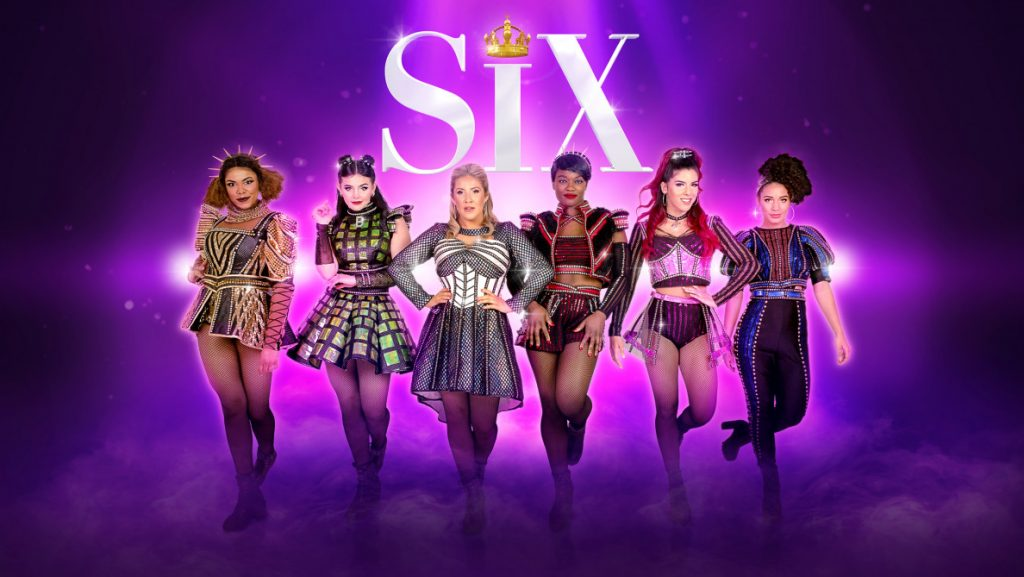 SIX the Musical takes back the stage and puts the spotlight on the six wives of Henry VIII