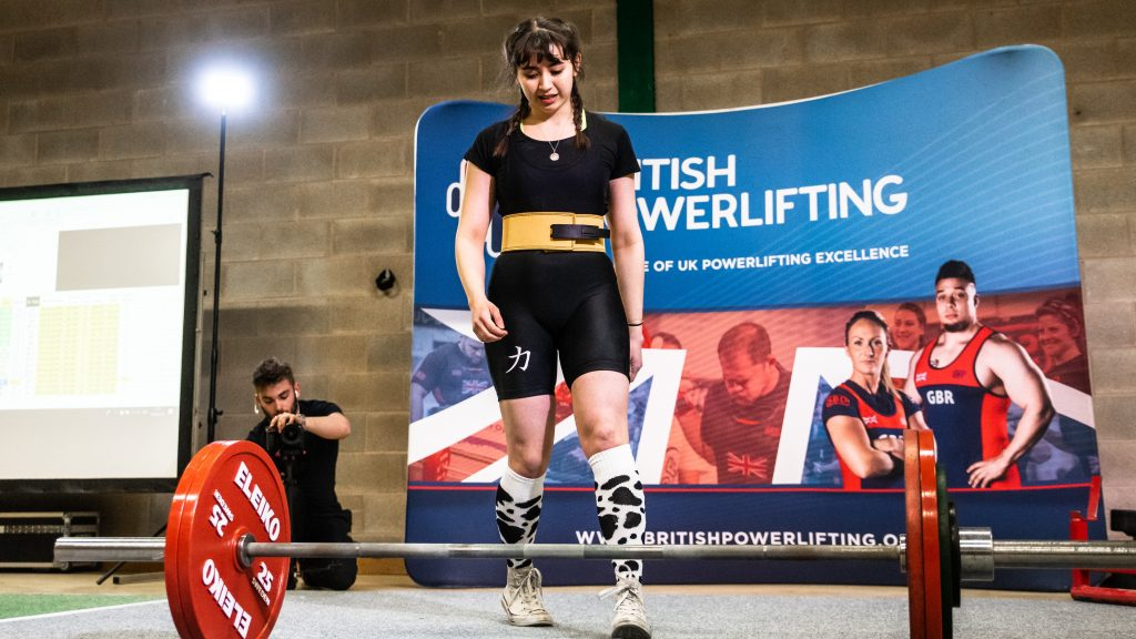 KU national winning powerlifter campaigns for new society