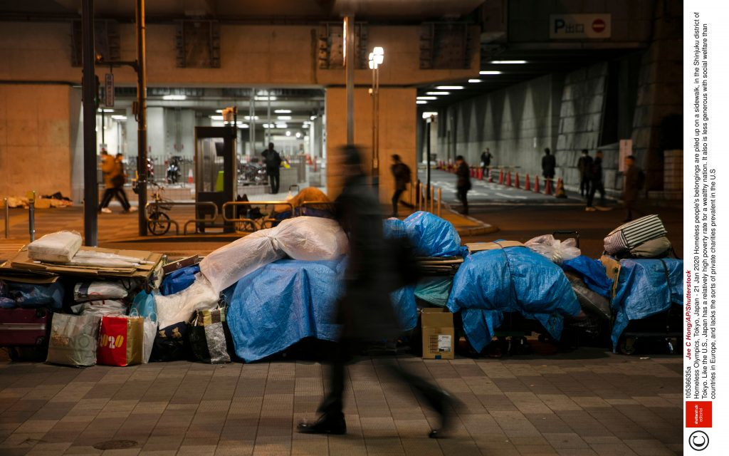 Kingston University students encourage others to help the homeless