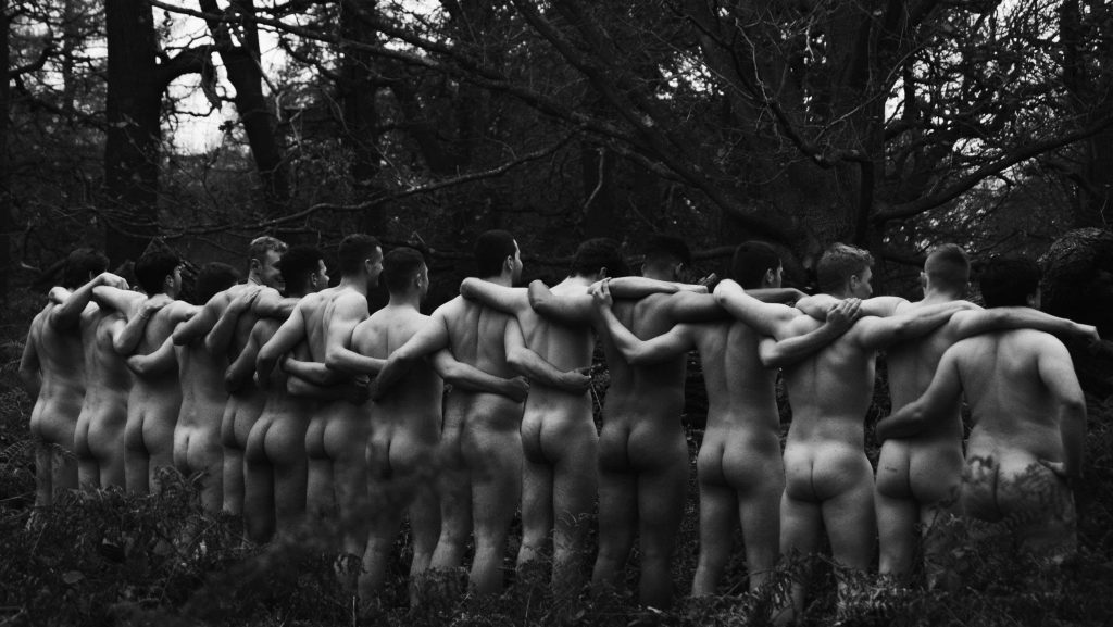 KU rugby team bare all in naked calendar