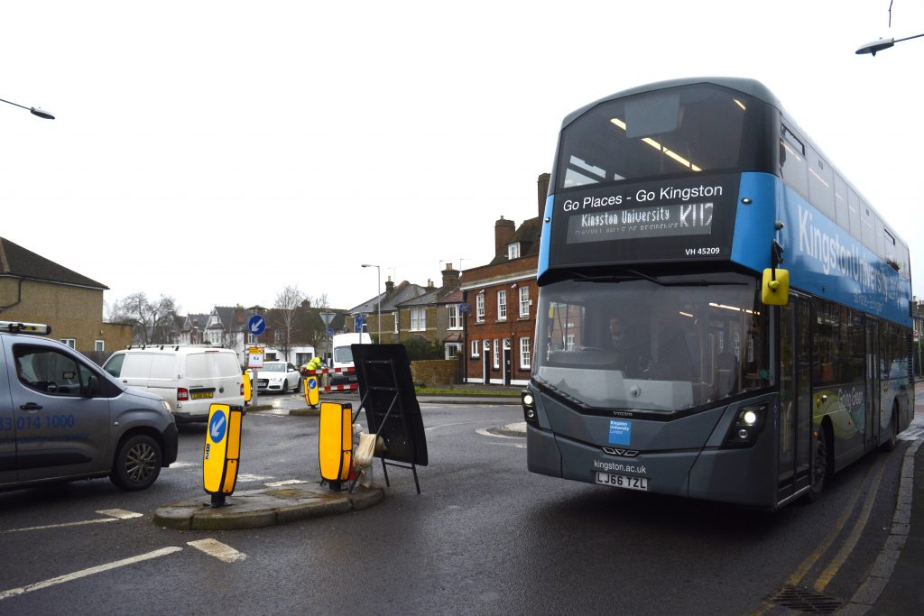 Road closures cause KU bus chaos
