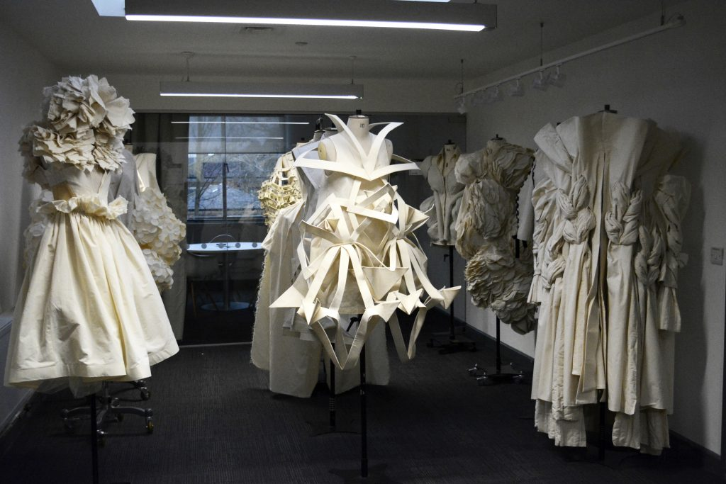 These designs are anything but tear-ible: MA fashion students wow with paper dresses