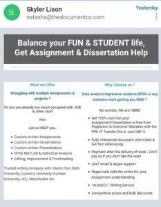 essay mill, students