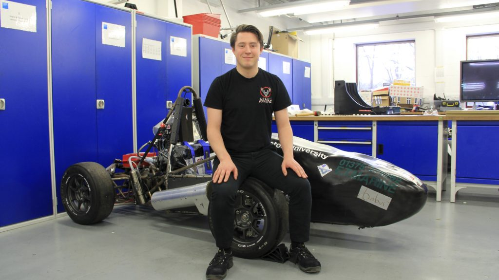 Kingston's Motor Racing team goes international for the first time ever