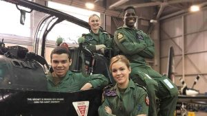 Kingston student says joining the Air Squadron gave him the confidence he lacked