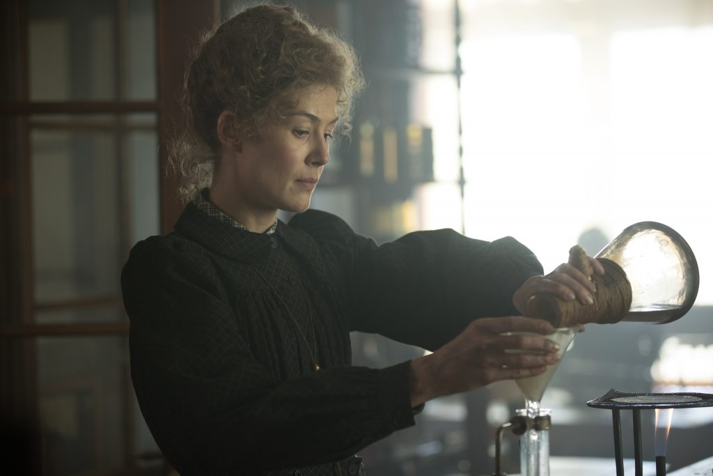 Radioactive: A lazy portrayal of Marie Curie