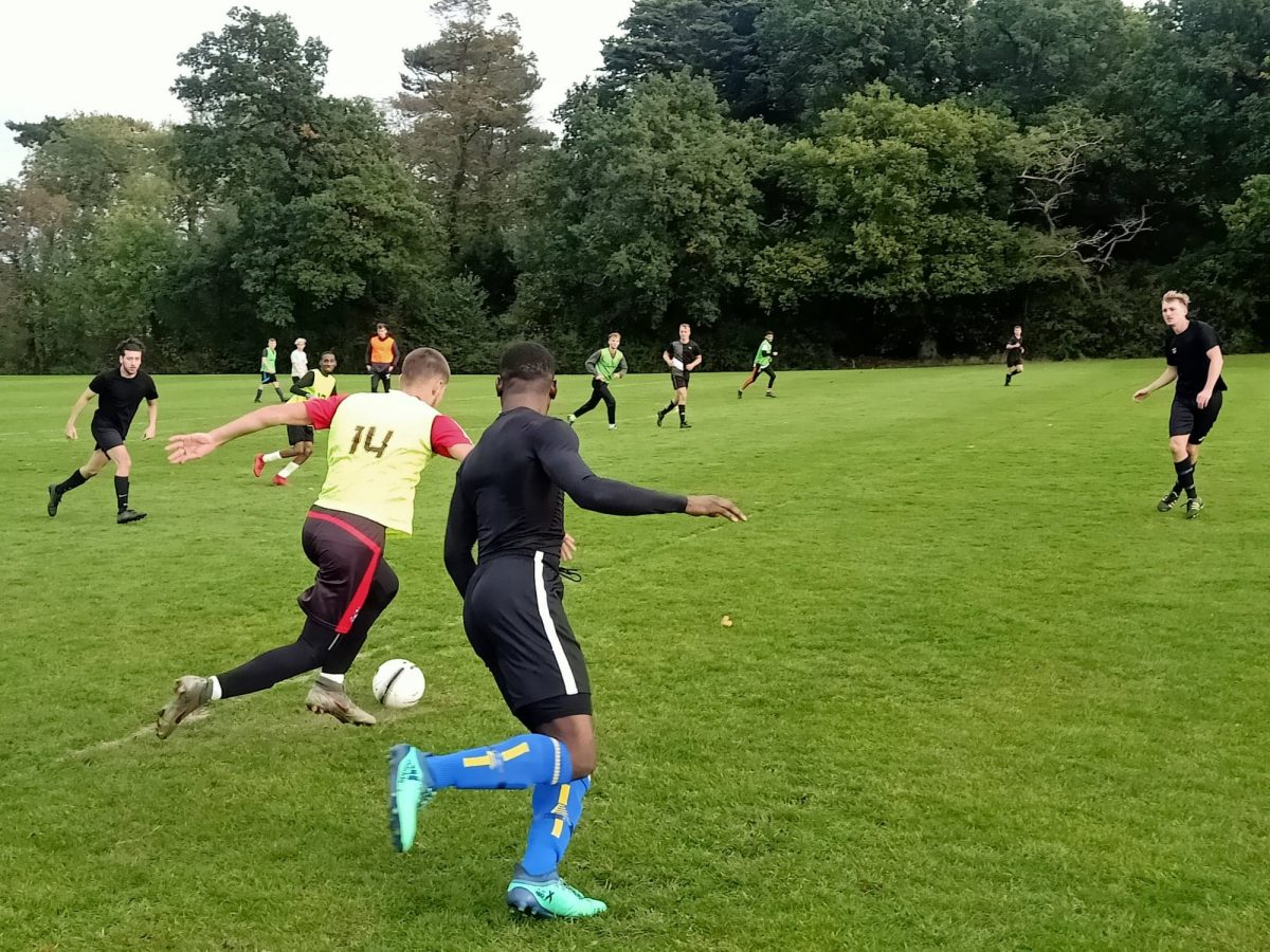 Victory for Kingston first team in entertaining match