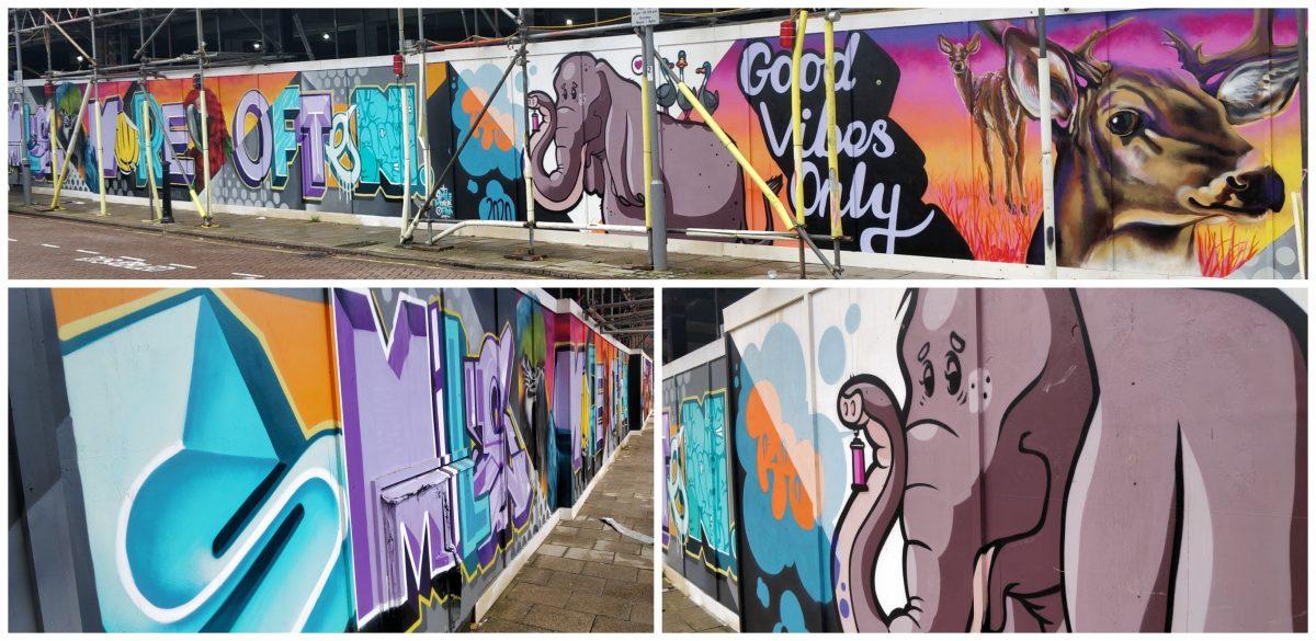 We Are Skyhigh graffiti