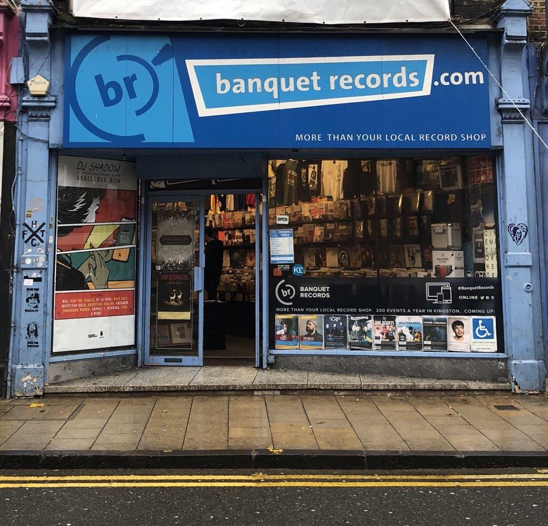 shot of Banquet Records