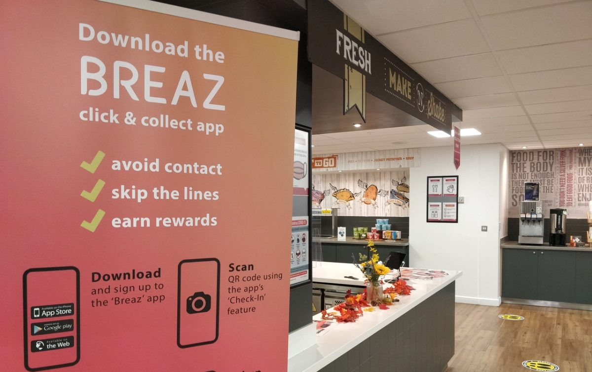 It's a Breaz: App ordering comes to KU canteens