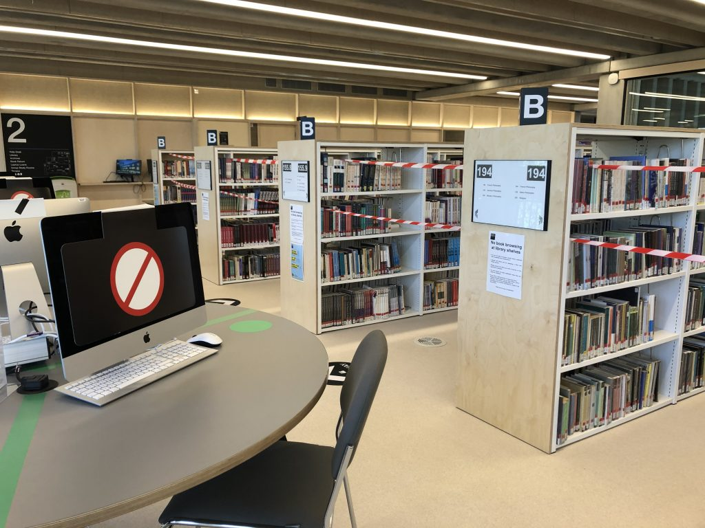 Library limits: How are students finding the current rules?