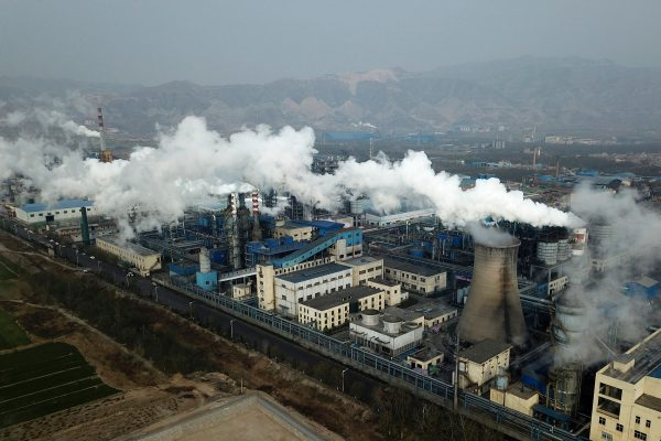 China accounts for 28% of global emissions making them the largest producer of CO2