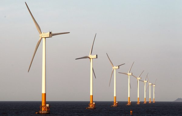 Renewable energy sources such as, wind turbines, are crucial in China's fight to reduce carbon levels