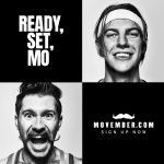 Image advertising the different ways you can show support during Movember