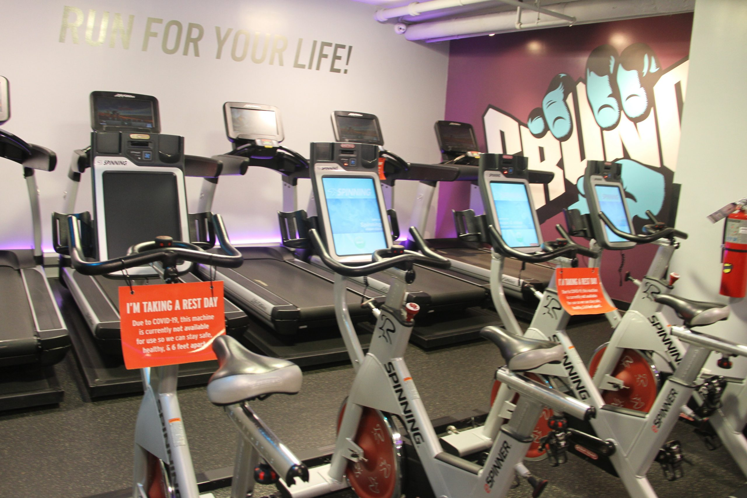 Personal trainers and students disappointed by  gym closures