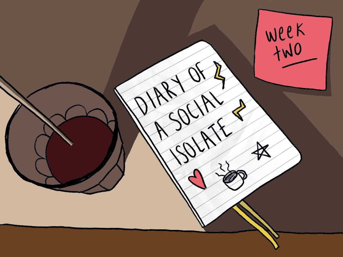 Diary of a self-isolate: Week two