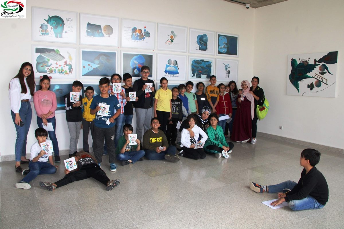 Artmejo's art tour given to kids from public schools with less privileged backgrounds.