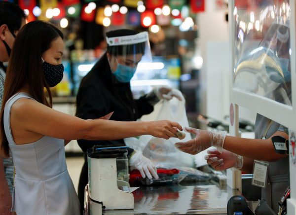 Supermarkets staying open during the pandemic