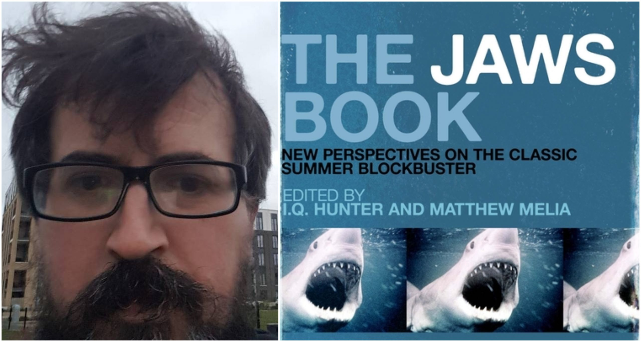 KU lecturer Matthew Melia , teamed up for a research project that explains the significance of Oscar-winning movie Jaws.
