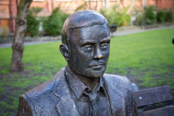 Statue of Alan Turing, a computing engineer who's name was given to the new scheme.