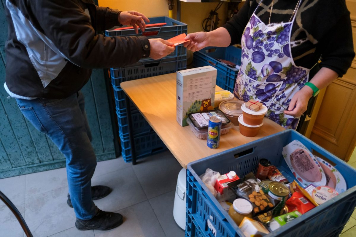 International students in the UK are relying on food banks