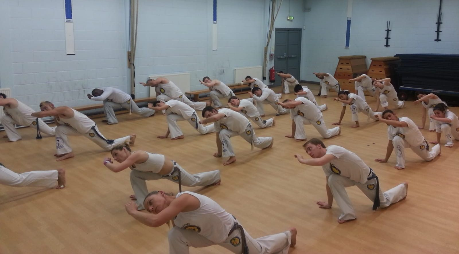 Kingston University Capoeira club in search of new members