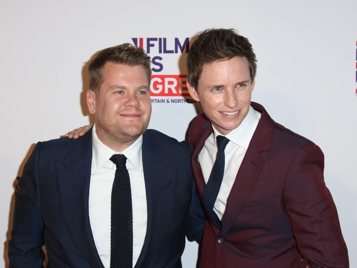 James Corden and Eddie Redmayne UK Film is GREAT Reception, Los Angeles, America - 26 Feb 2016