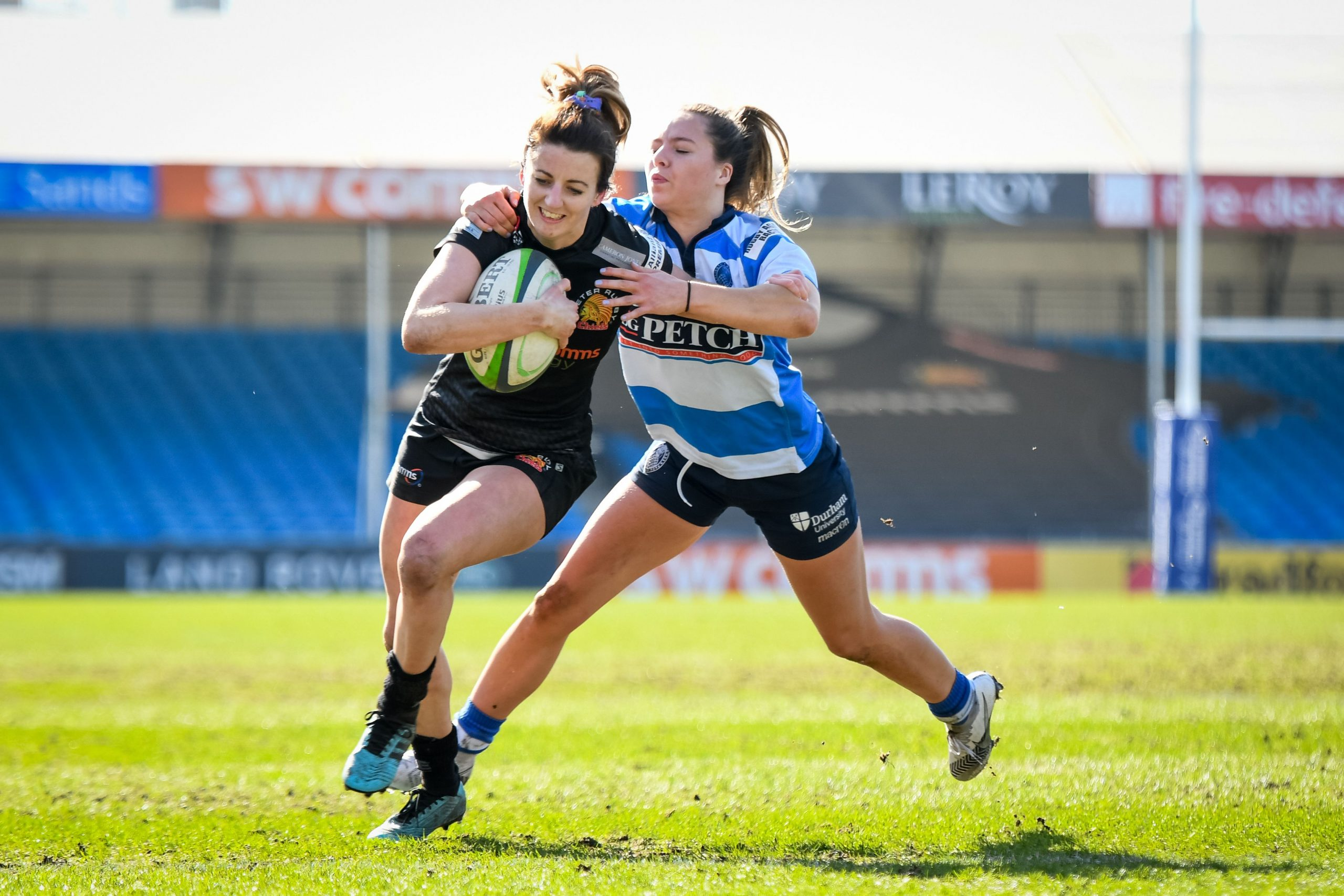 Kingston University rugby player says more needs to be done to raise awareness of women's rugby