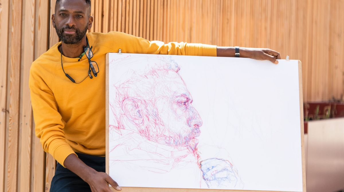Portrait Artist of the Year has advice for students