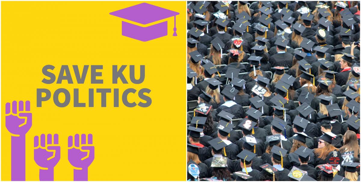 KU politics students campaign against course suspension