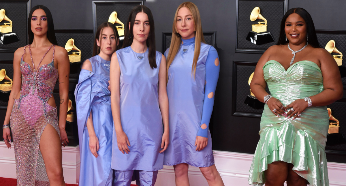 The best-dressed celebrities at the 2021 Grammy Awards