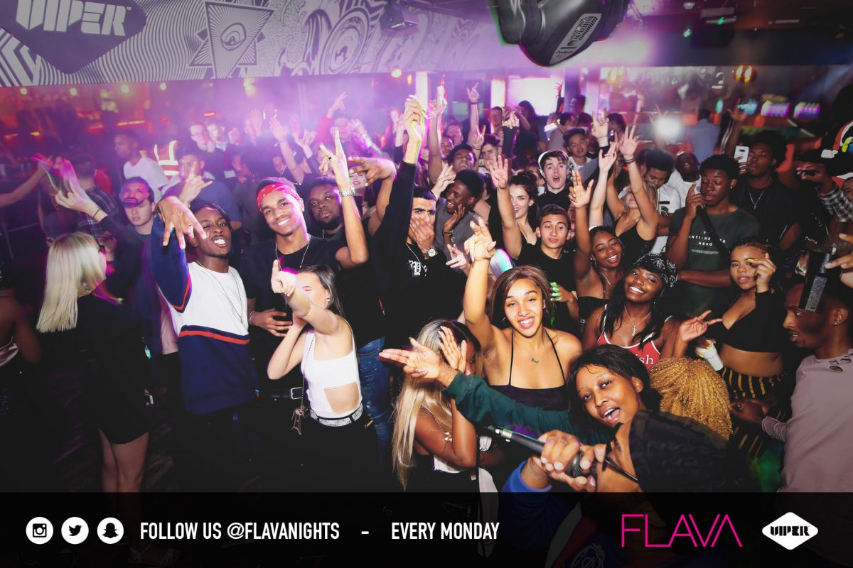 Full audience at Viper nightclub venue