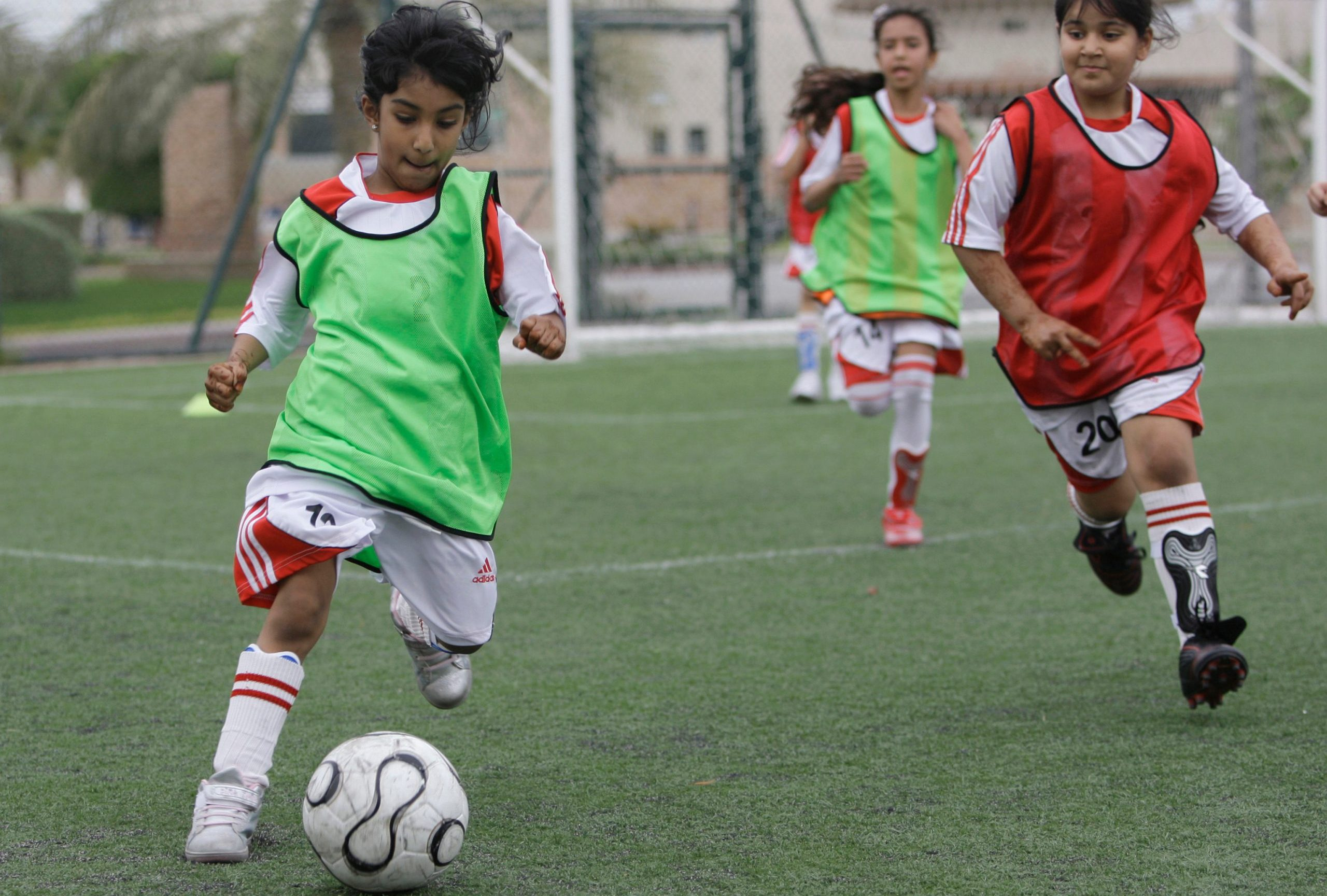 More girls participating in football since the pandemic began