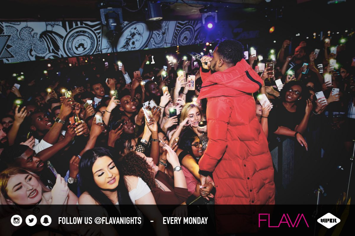 YxngBane performs to live audience at venue